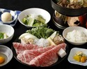 Weekdays Sukiyaki Lunch