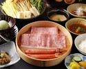 Beef & Crab Shabu-Shabu Lunch