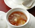 【春の歓送迎会】5000円 フカヒレの湯葉包み・白身魚炒め・担々麺入り
