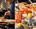 【Weekday /For 2】 Lunch Buffet with Folk Crab Bucket 500g