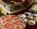 ◆名物京鴨の鴨しゃぶと串焼コース◆2時間飲み放題付き全9品(¥7800 税抜)
