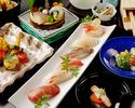 【寿司懐石×個室確約】ご接待におすすめ、 匠の技が光るにぎり寿司や煮物・焼物・お造りなど豪華懐石
