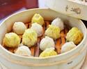 【歓送迎会】フカヒレ・糸島野菜・本格飲茶など..お料理8品+飲み放題付き3,500円コース(税抜)