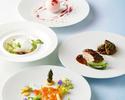 【日本の春メニュー】お肉料理は北海道産仔牛と新玉ねぎのローストを!Wメインコース全6皿
