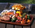 【2020年BBQ】器材+食材+準備・片付け不要!お肉&シーフードBBQプラン!!