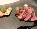 【ディナー】A5等級神戸牛赤身(内もも)ステーキコース
