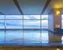 鉄板焼 春のワンディプランF ランチ+入浴
