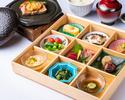 前菜九種盛り合わせ彩り小会席【華】 2700円(税込)
