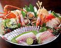 名物皿鉢料理!鰹とウツボのたたき盛【土佐皿鉢(さわち)コース】