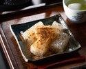 """「ほりかわ」季節のおすすめ""""桜とわらび餅の煎茶セット"""""""