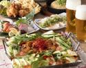 【リーズナブル】学生さんの飲み会にぴったり!『けいちゃん焼き&九州産ローストポーク』2時間飲み放題