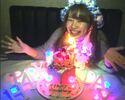 【光るシャンパンタワー付誕生日・お祝いプラン】《個室3H》料理8品☆『光る』ハニトー+飲み放題付♪