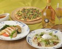 White asparagus hot salad truffle flavor