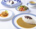 【人気NO.1ランチコース】4種のライスが選べる百年ライスカレーや自家製デザート、カフェ等 金谷ホテルランチコース