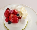 ★ 【Option】 Strawberry shortcake No. 6 (diameter 18 cm)