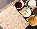 【当日OK!2名様~】創作串天・二八蕎麦にぎわいセット 全4品