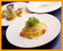 【ランチ】人気NO.1のプリフィックスコース 前菜・選べるパスタ・選べるメイン・デザートなど 全5品(半個室確約)
