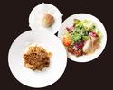【TAKEOUT】タリアテッレ ボロネーゼ サラダ、パンセット