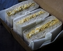 [Takeout] Black truffle egg sandwich