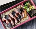 [Take out] Black truffle cooked rice and domestic beef sirloin steak