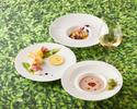 【日本の夏メニュー】お肉料理はウズラとフォワグラのミルフィーユ仕立て!Wメインコース全6皿