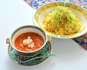 Chili Crab Meat Sauce with Fried Rice Set