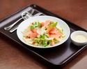 Caesar salad, anchovys, garlic, aged parmesan, crouton