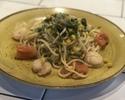 TOランチ☆パンとサラダ付き 月替りオイルパスタ 内容はお店まで 写真はイメージです