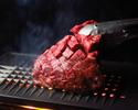 ★金土限定★【3時間飲み放題付】牛ハラミ塊肉の焼肉海鮮コース