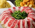 【オープン記念】★金土限定★たっぷり野菜と牛肉のヘルシー炊き肉コース【2時間飲み放題付】