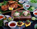 タイベトナム・前菜3種盛り合わせ