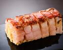 炙り金目鯛の棒寿司
