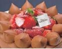 【デリバリー】4号(12cm)チョコレートショートケーキ ¥3,000(税抜)