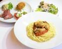 【テイクアウト】牡蠣パスタセット