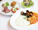 【テイクアウト】魚介のトマトクリームリゾットセット