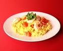炸蝦和番茄雞蛋
