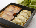 Feather dumplings of black pork and cabbage