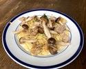 【テイクアウト】鶏もも肉と木の子のクリーム スパゲッティ