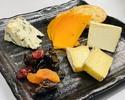 【テイクアウト】フランス産チーズの盛り合わせ(4種類)¥2,000