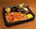 【テイクアウト・弁当】特製ナポリタン&フォアグラハンバーグ弁当