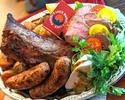 いろいろお肉の盛り合わせ
