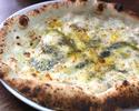 4種のチーズのピッツァ