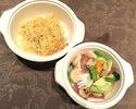 【T.O.】夏野菜と海老のあんかけ焼きそば