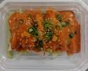 【テイクアウト】蒸し鶏のピリ辛ゴマソース