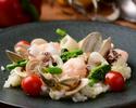 魚介とマッシュルームの和風リゾット