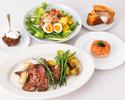 【TAKEOUT】1ポンドステーキ セット One Pound Steak Set