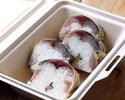 【テイクアウト】〆鯖おぼろ昆布棒寿司 4貫