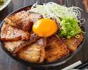 【TAKEOUT】豚カルビ丼 Pork Kalbi Rice Bowl