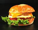 【TAKEOUT】「究極のサラダバーガー」プラントベースドチキンバーガーwith チェダーチーズ