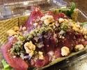 【テイクアウト】牛肉の生ハムと有機ハーブリーフ